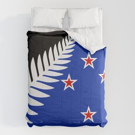 NZ flag (that nearly made it) 2016 Comforters