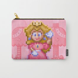 Peach Princess Carry-All Pouch