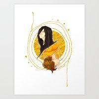 The Shadow of a Broken Dream Art Print