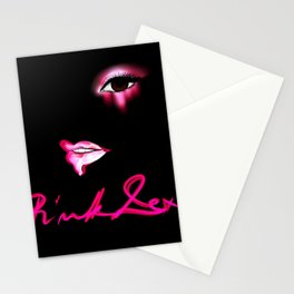 Pink Lexi Stationery Cards