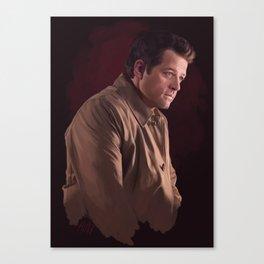 Castiel. Season 12 Canvas Print