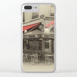 Au Brasseur Clear iPhone Case