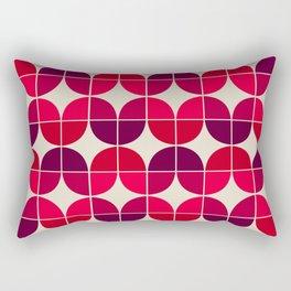 Mid Century Geometric 6 Rectangular Pillow