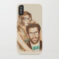 I love your Glasses iPhone X Slim Case