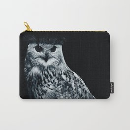 Burning Owl Carry-All Pouch