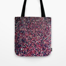 Blue, Pink, Silver Tote Bag