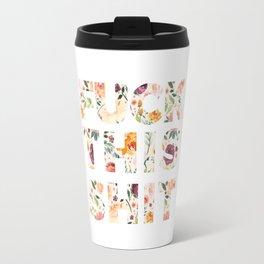 Flowery Language: Fuck This Shit Travel Mug