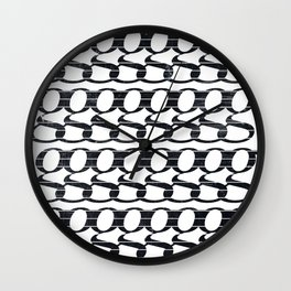 Minimalist Geometric Art 10 Wall Clock
