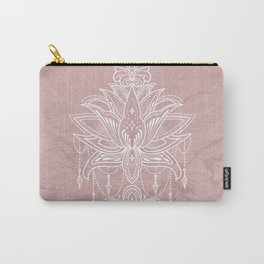 Blush pink mandala Carry-All Pouch