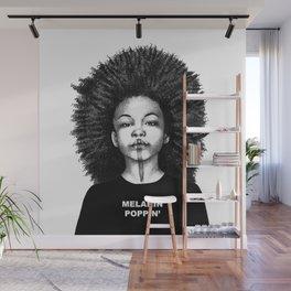 Melanin Poppin Wall Mural