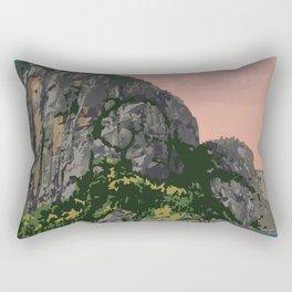 Saguenay Fjord Provincial Park Rectangular Pillow
