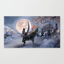 One Piece Zoro Roronoa Canvas Print