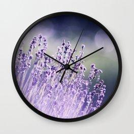 Spring Purple I Wall Clock