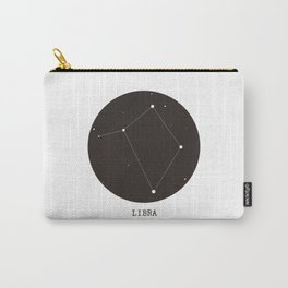 Libra Star Constellation Carry-All Pouch