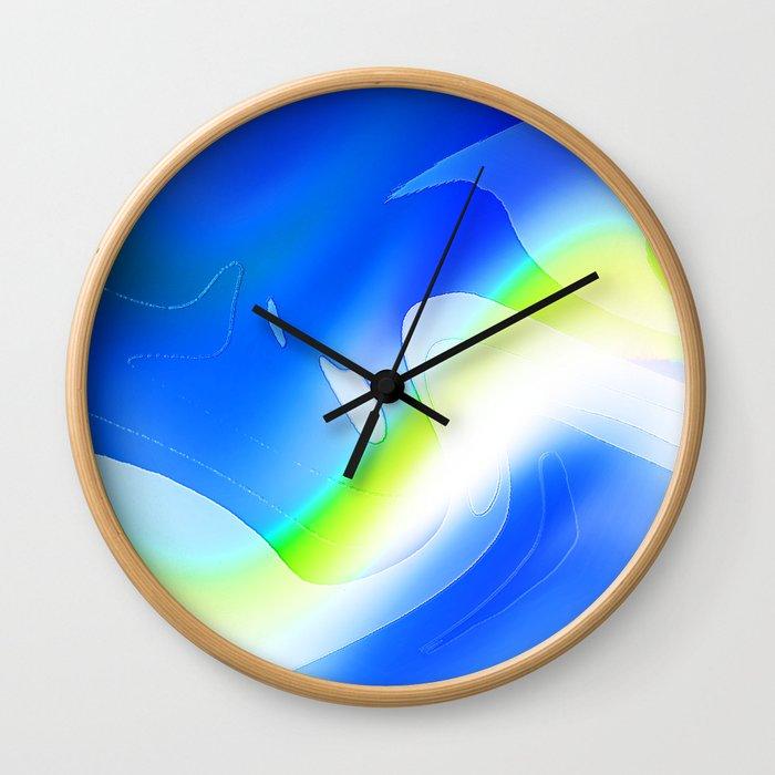 """'70's Lava Lamp"" Photograph Wall Clock"