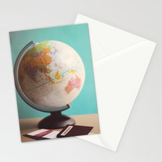 Travel planning Stationery Cards