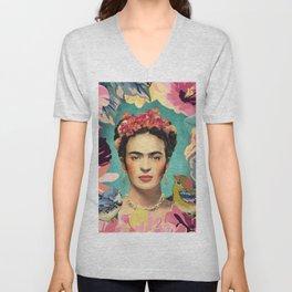 Frida Kahlo V Unisex V-Neck
