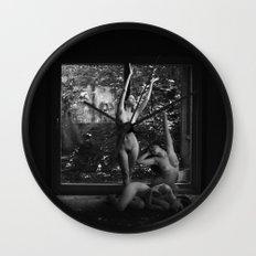 Pleasures Wall Clock