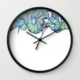 Armoured 1530 Graffiti Wall Clock