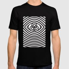 Third Eye Mens Fitted Tee Black SMALL