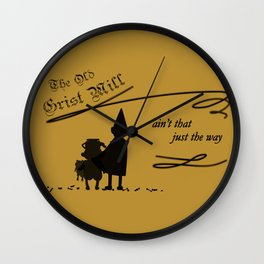 The Old Grist Mill Wall Clock