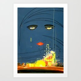 Gatsby Cover Art Print