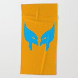Wolverine Mask Beach Towel