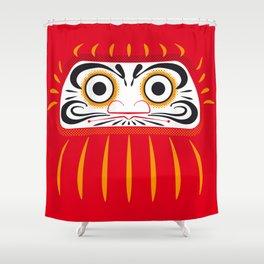 Japan Serie 1 - DARUMA Shower Curtain