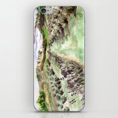 Purple up over the hills iPhone Skin