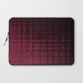 Black maroon mosaic Laptop Sleeve