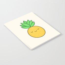 Happy Pineapple Notebook