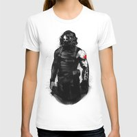 bucky barnes T-shirts featuring Who the hell is Bucky? by charlotvanh