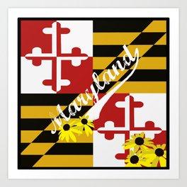 Maryland Pride  Art Print