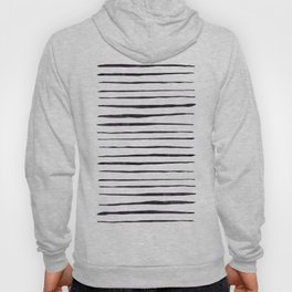 Black Ink Linear Experiment Hoody