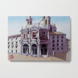 postcard from Basilica de San Francisco el Grande, Madrid, Spain Metal Print