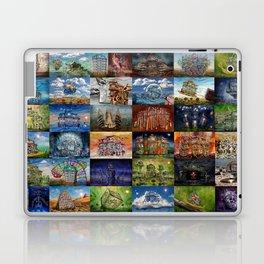 Super Collage - House Laptop & iPad Skin