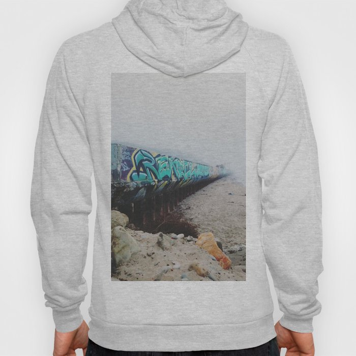 Beach Graffiti Hoody