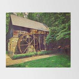 Gristmill - Charlottesville, Virginia Throw Blanket