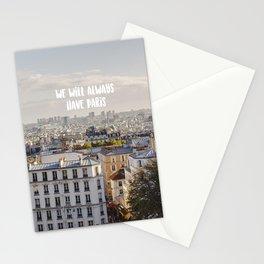 Paris Montmartre Stationery Cards