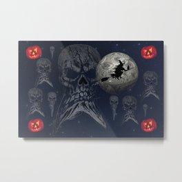 Halloween Haunting Metal Print