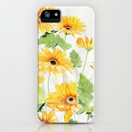 Beautiful Yellow Gerbera iPhone Case