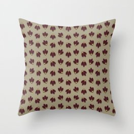 Sue's pattern Throw Pillow