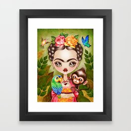 Frida Querida Framed Art Print