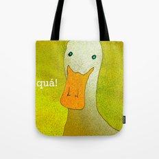 White Duck! Tote Bag