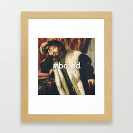 #BORED Framed Art Print