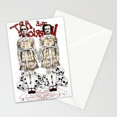 Evil Twins Stationery Cards