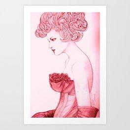 María Antonieta Art Print