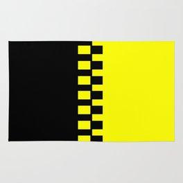 Yellow & Black Rug
