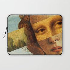Botticelli's Venus and Mona Lisa Laptop Sleeve