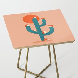 Prickly Side Table